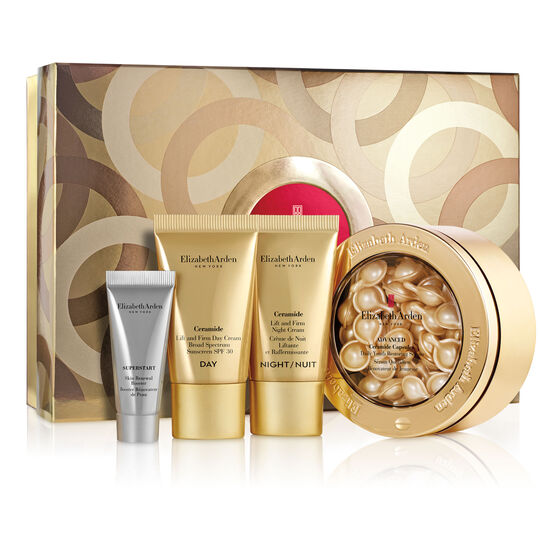 Advanced Ceramide Capsules Face Serum Gift Set, (a $134 value), , large