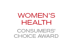 Women's Health Consumers' Choice Award
