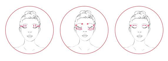 PREVAGE® Anti-Aging + Intensive Repair Eye Serum Application