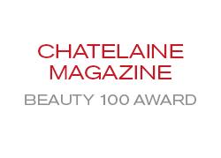 Chatelaine Magazine Beauty 100 Award
