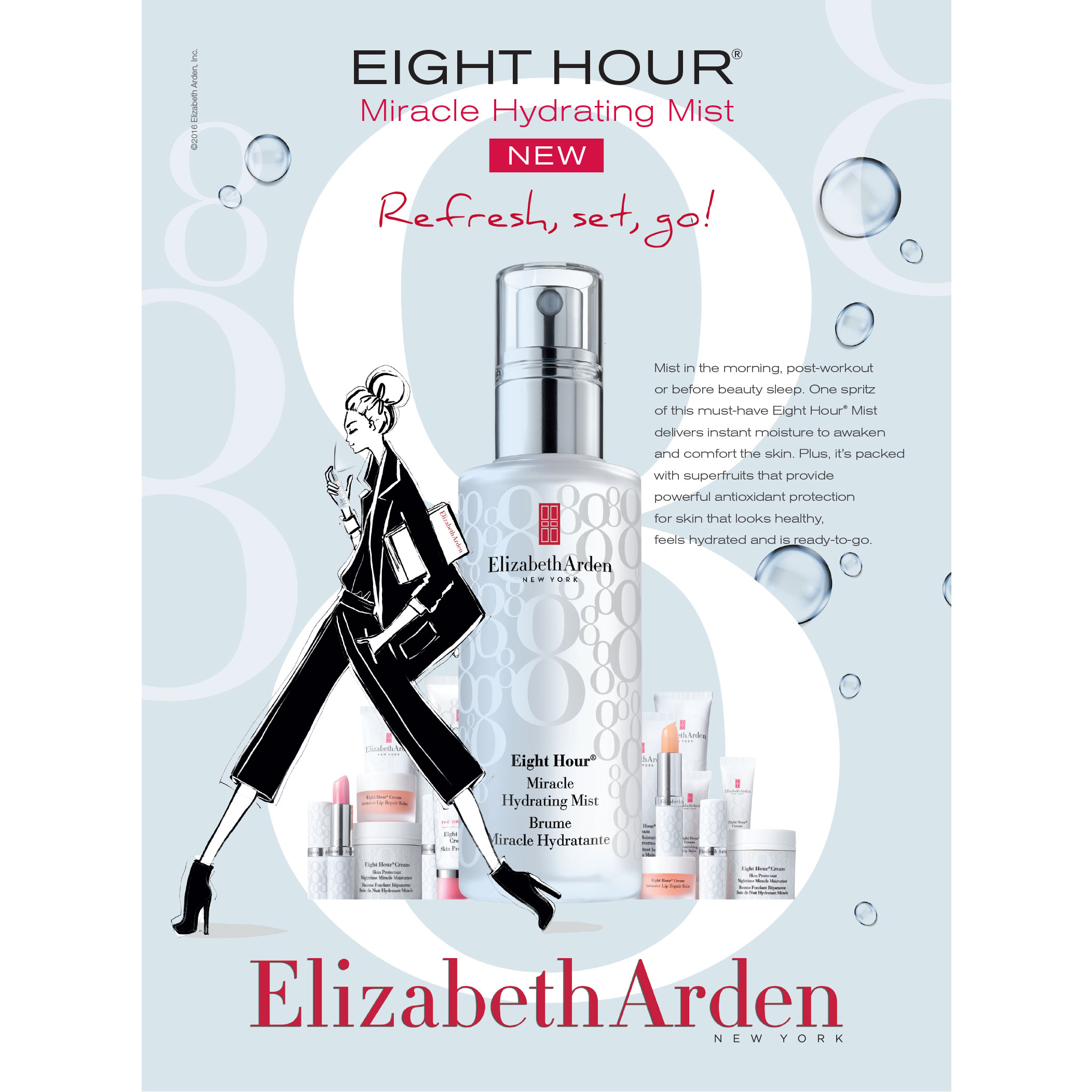 Eight Hour®  Miracle Hydrating Mist, , large