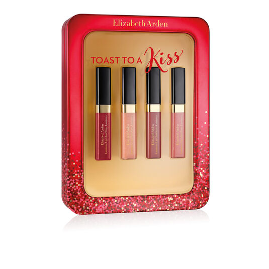 Toast to a Kiss Mini Lip Gloss Set, , large