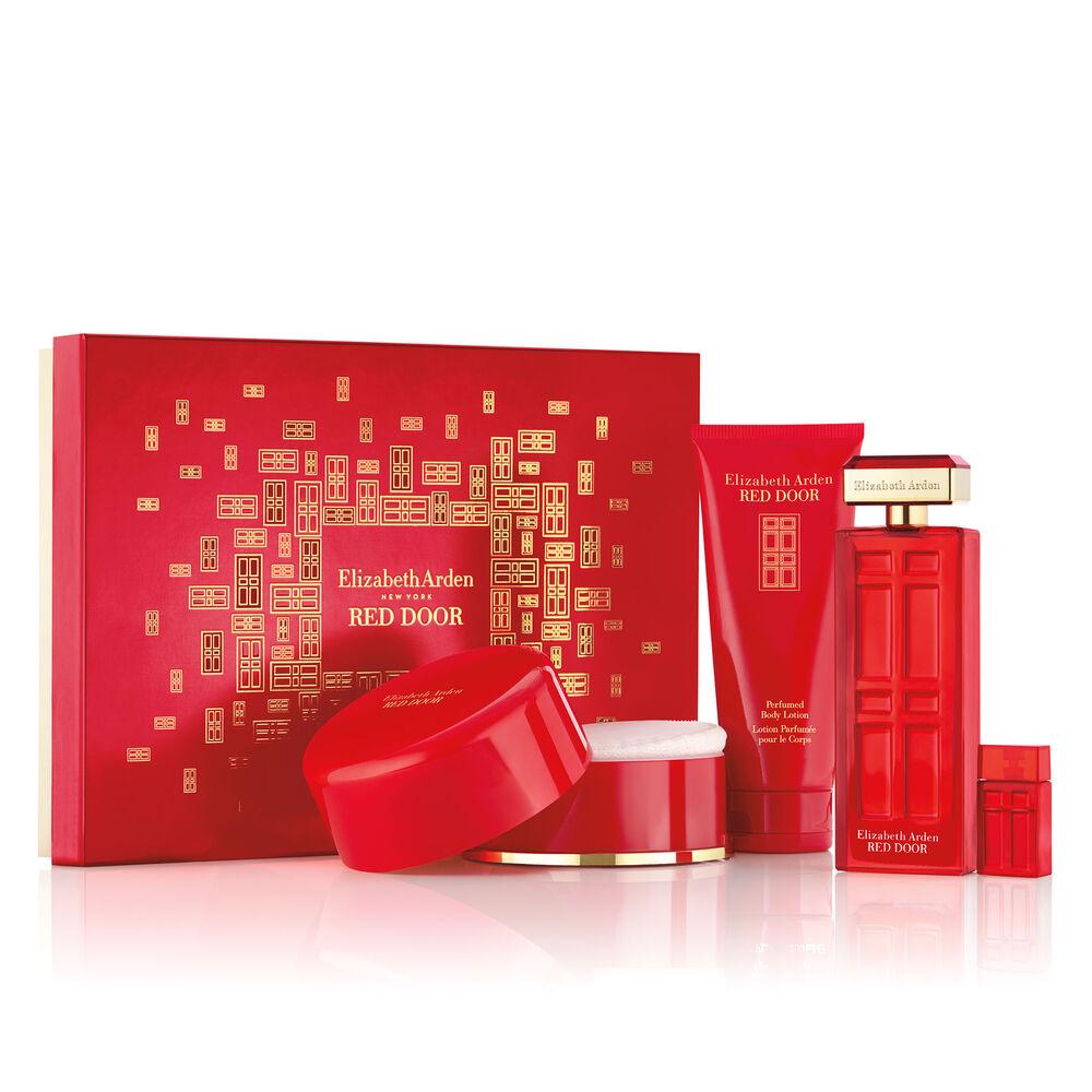 Red Door Holiday 4 Pc Fragrance Gift Set Elizabeth Arden