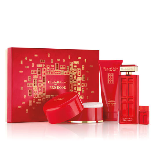 Review Red Door 4 Piece Fragrance Gift Set a $127 value In 2019 - Popular elizabeth arden gift set Beautiful