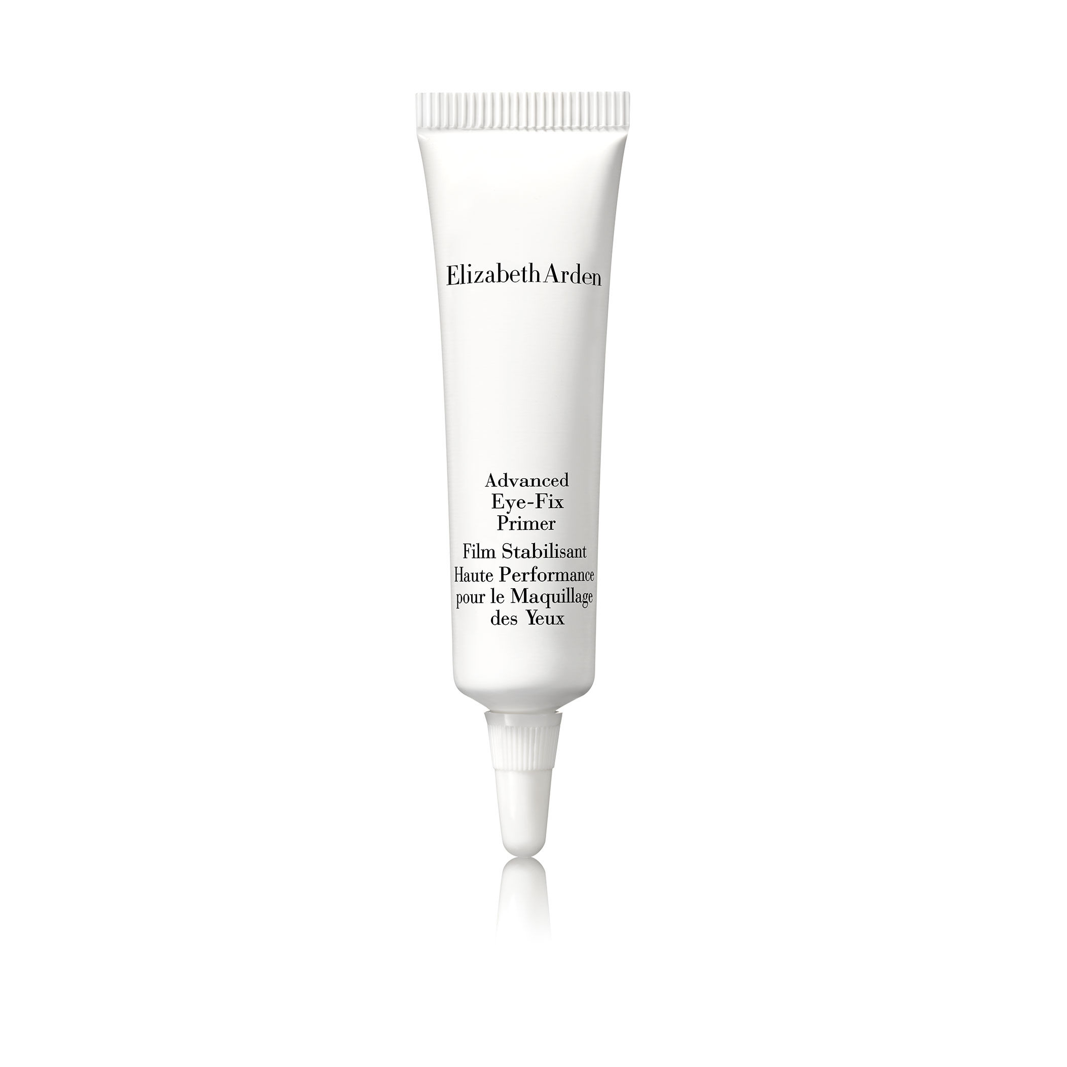 Effective, ingenious Eye-Fix works as an invisible shield between eyelids and eyecolor, so shadows, liner and powders stay put, stay fresh and color-true longer.