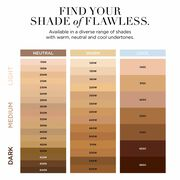 Find your flawless finish shade. Available in diverse range of warm, neutral and cool undertones.