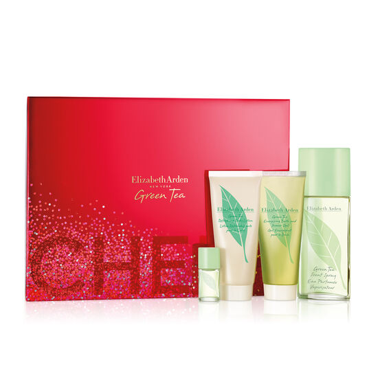 Green Tea 3.3oz Eau De Parfum 4-Piece Set, (a $54 value), , large