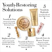 1-Nourish & Firm with Advanced Ceramide Capsules for Day or Night, 2-Brighten & Firm with Advanced Ceramide Capsules Eye Serum for Day or Night, 3-Nourish & Protect with Ceramide Day Cream SPF 30 for day, 4-Smooth Lines & Renew Texture with Retinol Ceramide Capsules for night, 5- Nourish & Replenish with Ceramide Night Cream for night
