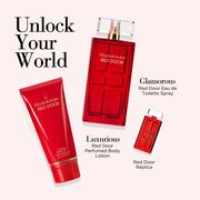 Set includes Eau de toilette, eau de toilette mini and body lotion