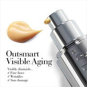 Outsmart Visible Aging by visible diminish fine lines, wrinkles and sun damage