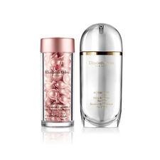 Online Only! Elizabeth Arden SUPERSTART Skin Renewal Booster & Retinol Ceramide Capsules Line Erasing Night Serum (a $179 Value), , large