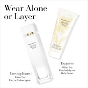 Wear Alone or Layer Uncomplicated White Tea Eau de Toilette and Exquisite White Tea Body Cream