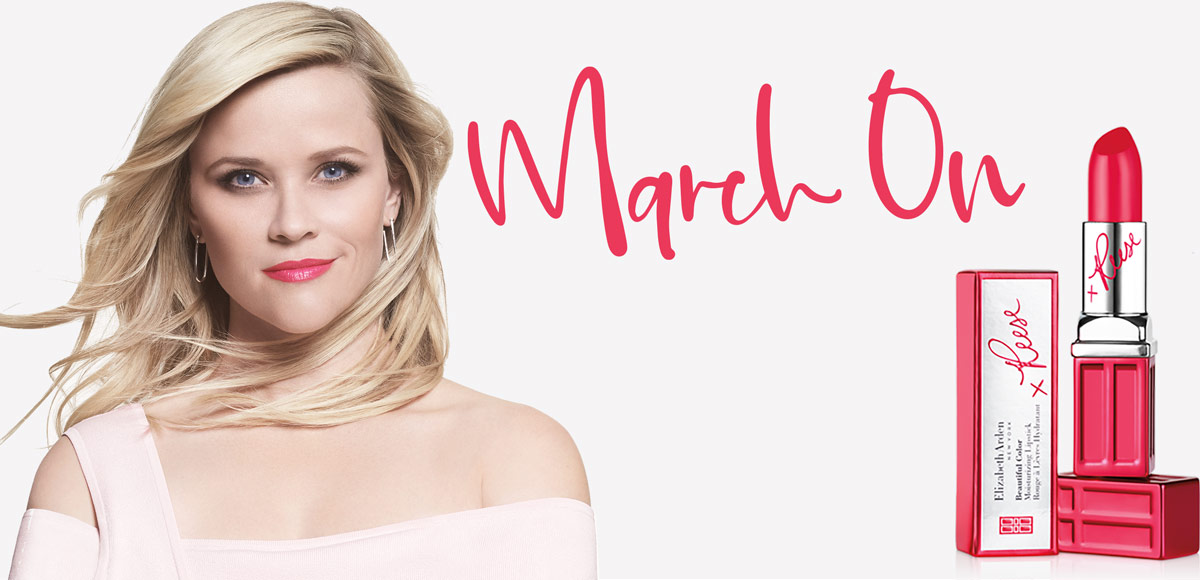 Reese Witherspoon March On Limited Edition Lipstick