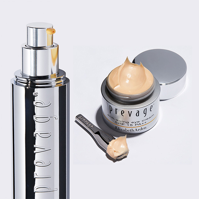 PREVAGE Anti-Aging Daily Serum and a PREVAGE Eye Cream SPF 15