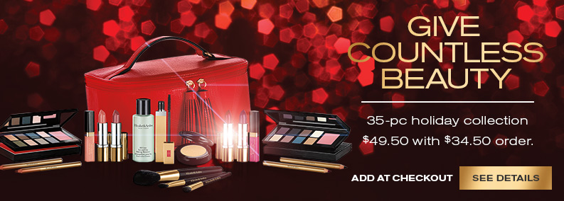 35-Pc Holiday Collection, just $49.50 (a $409 value) with $34.50 order. Add at checkout. See Details