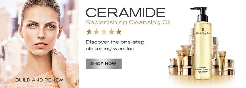 Ceramide Replenishing Cleansing Oil. Shop Now