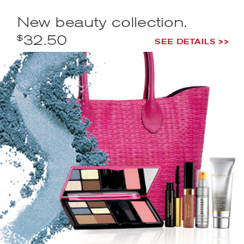 The Best Getaway. New Beauty Collection.  $32.50 with any purchase. Add at checkout.