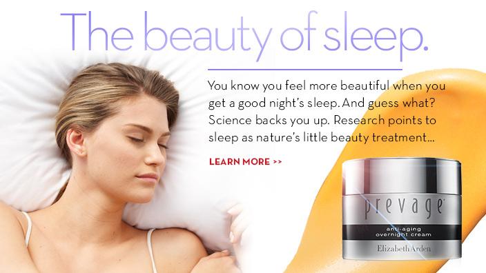 Learn Beauty Benefits & Importance Of A Good Night Sleep at Elizabeth Arden