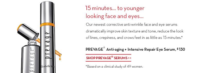 New PREVAGE® Anti-aging + Intensive Repair Eye Serum. Shop PREVAGE® SERUMS