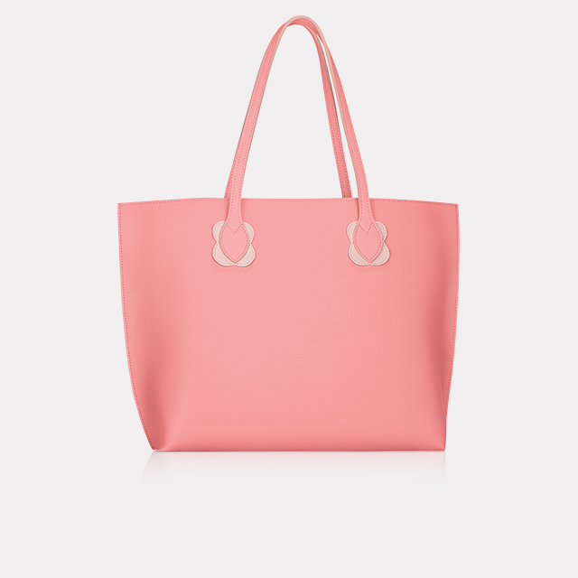Full-Sized Pink Tote Bag with $60 order