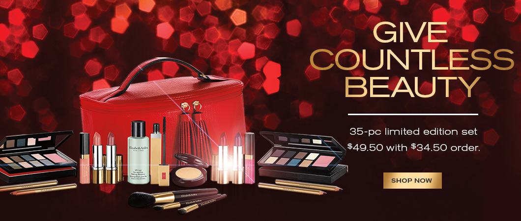 35-Pc Holiday Collection, just $49.50 (a $409 value) with $34.50 order. Add at checkout.