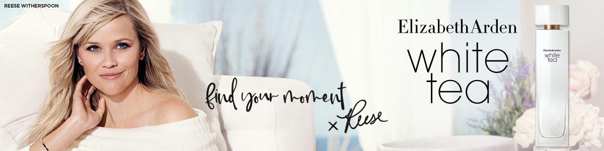 Elizabeth Arden White Tea, the new fragrance