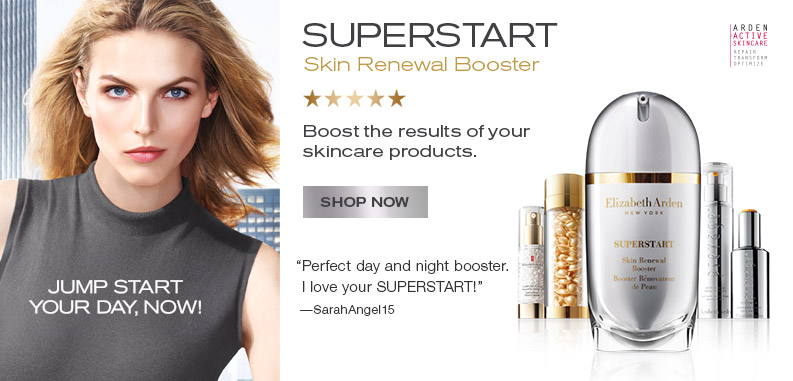 Elizabeth Arden SUPERSTART Skin Renewal Booster. Boost the results of your skincare products