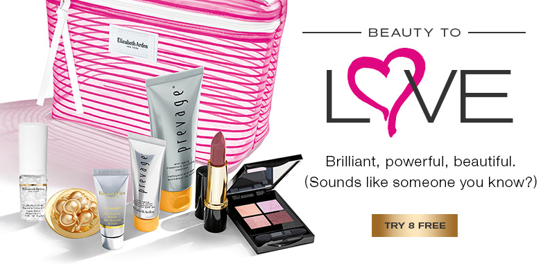 Beauty to Love.  8-piece deluxe gift plus free shipping with your $49 purchase. Code: LOVE