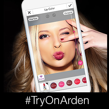 Elizabeth Arden and YouCam Makeup turn your phone into a virtual makeup expert.