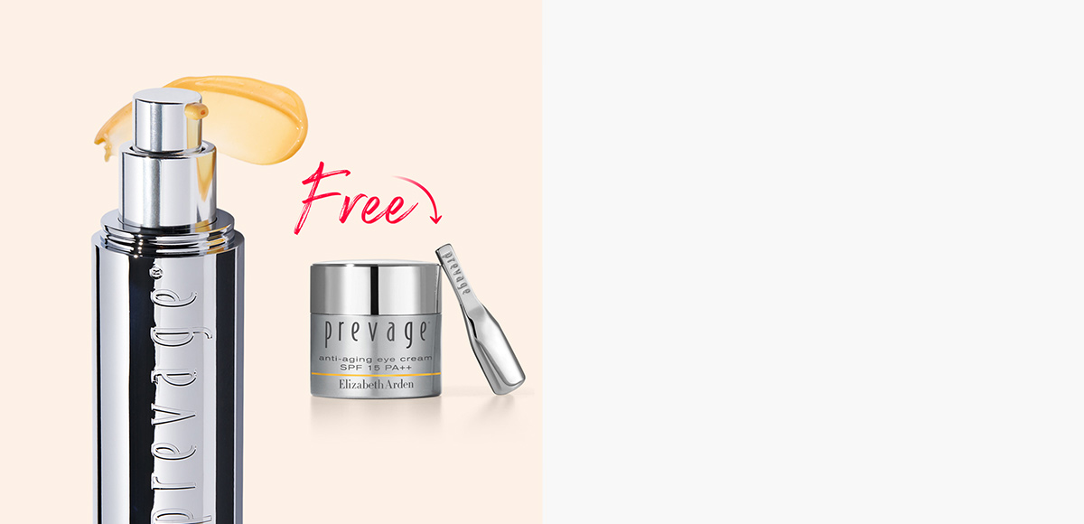 PREVAGE® Anti-Aging Daily Serum and a PREVAGE® Eye Cream