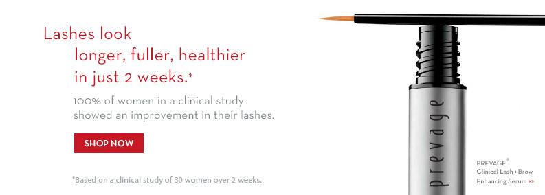 Lashes look longer, fuller, healthier in just 2 weeks. Shop Now >>