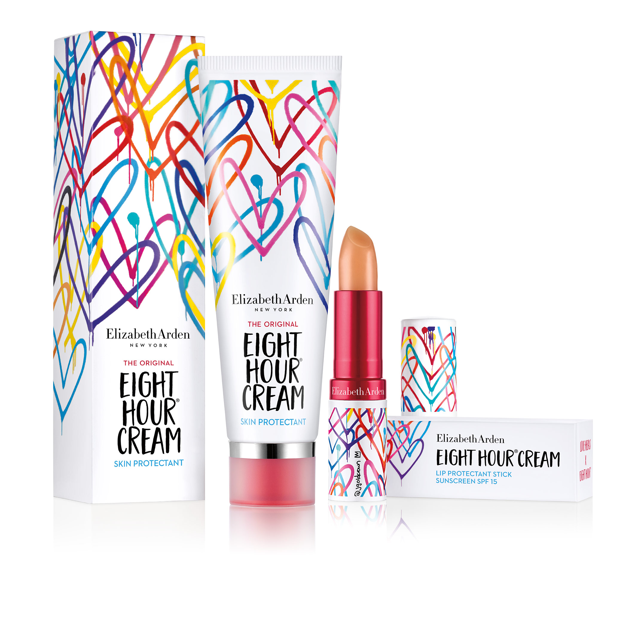 LOVE HEALS X EIGHT HOUR® Limited Edition Lip Protectant Stick SPF 15, , large