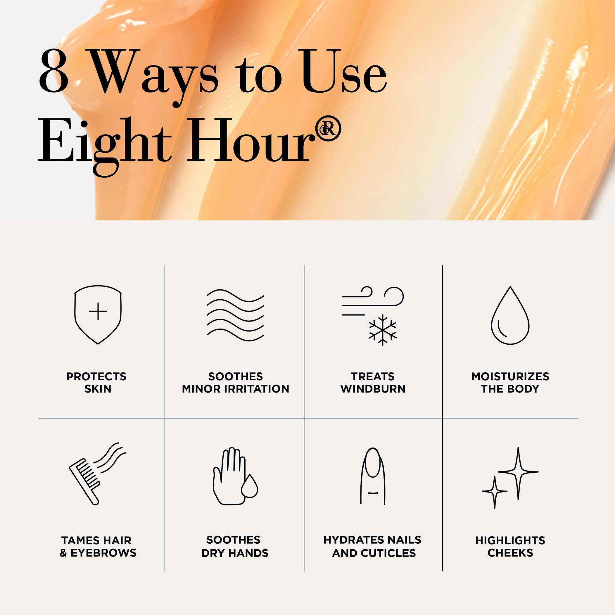 Eight Hour® 8 Hours, 4 Ways Moisturizing 5-Piece Set, , large