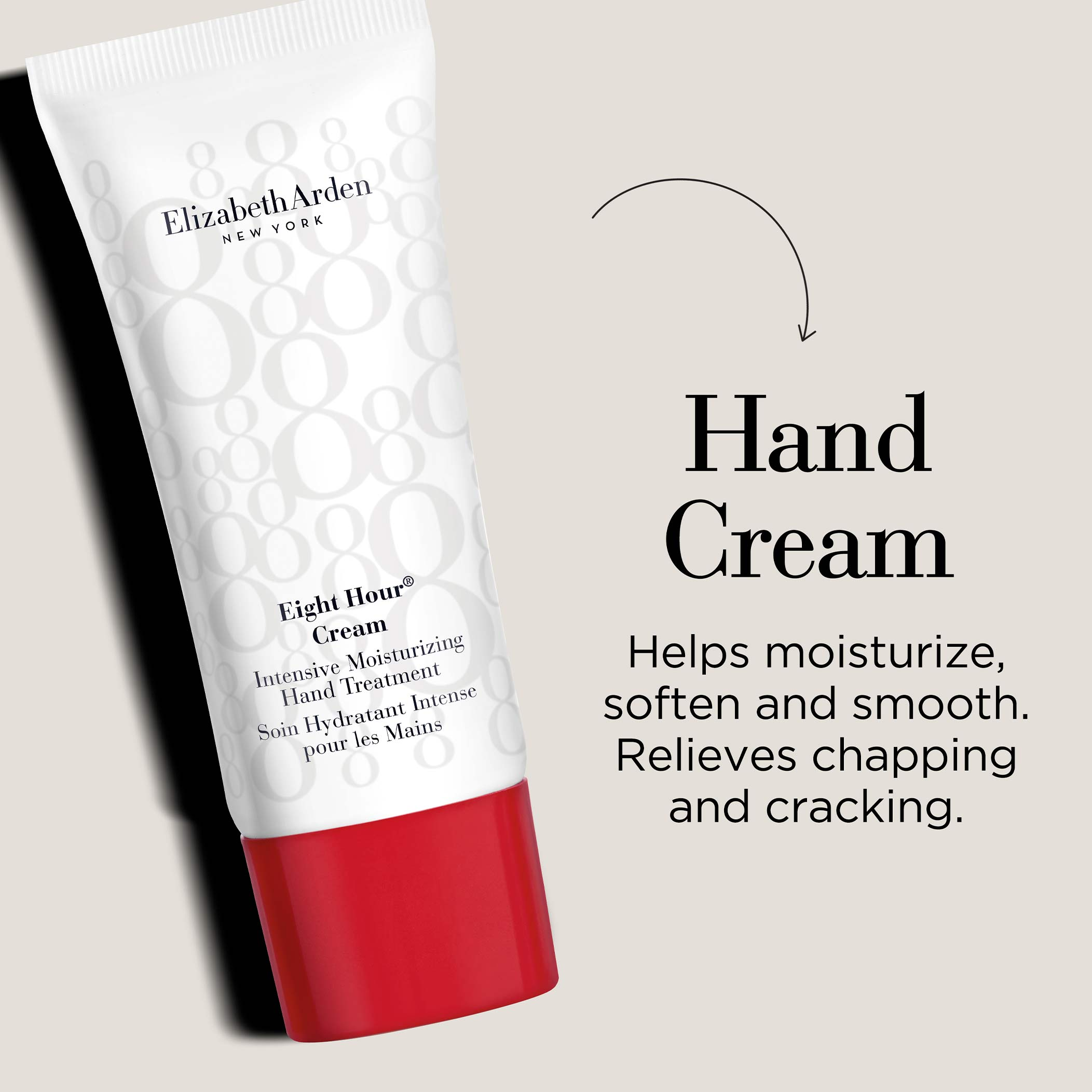 Hand Cream-Helps moisturize, soften and smooth. Relieves chapping and cracking.