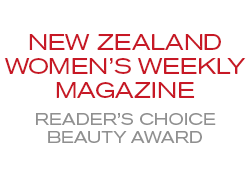 New Zealand Women's Weekly Magazine Reader's Choice Beauty Award