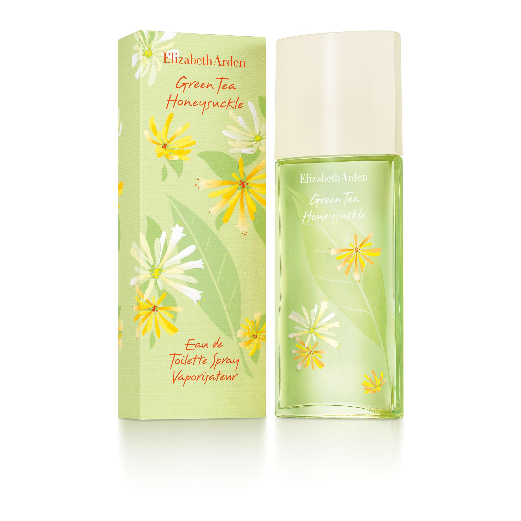 Green Tea Honeysuckle Eau de Toilette Spray, , large