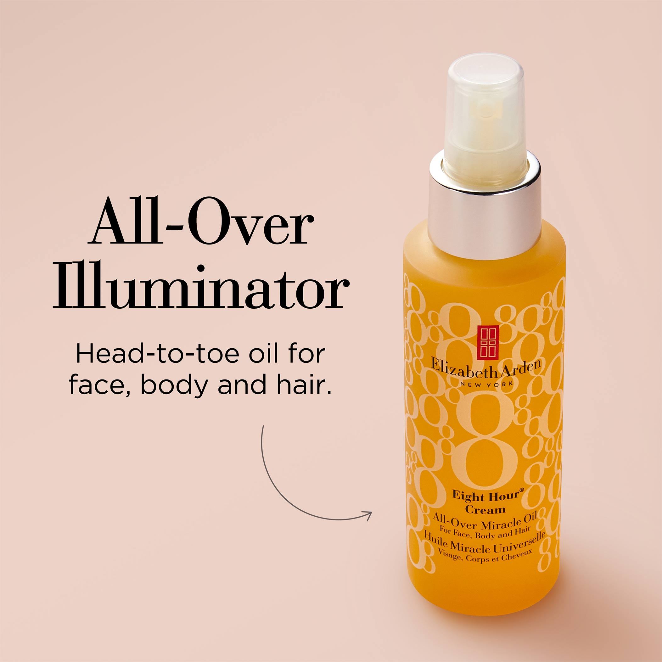 All-Over Illuminator- Head-to-toe oil for face, body and hair