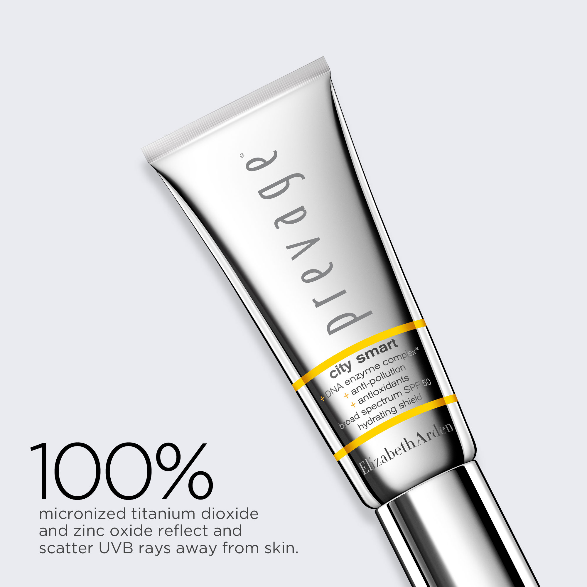 100% micronized titanium dioxide and zinc oxide reflect and scatter UVB rays away from skin