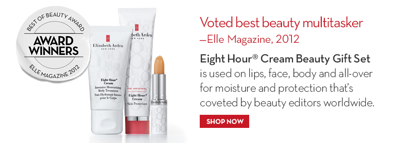 Eight Hour® Cream Beauty Gift Set Voted best beauty multitasker – Elle Magazine, 2012