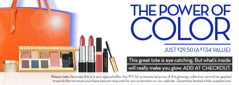 The Power Of Color Just $29.50 (A $134 Value) with ANY purchase.