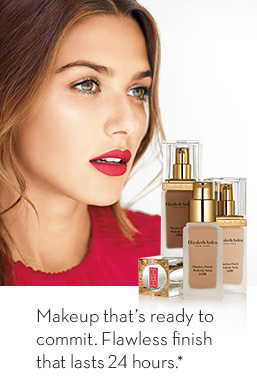 Makeup that's ready to commit. Flawless Finish that lasts for 24hrs *